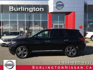 Used 2017 Nissan Pathfinder Platinum for sale in Burlington, ON