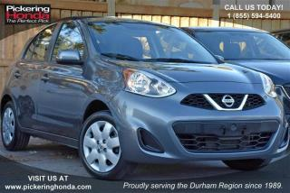 Used 2016 Nissan Micra 1.6 S at for sale in Pickering, ON