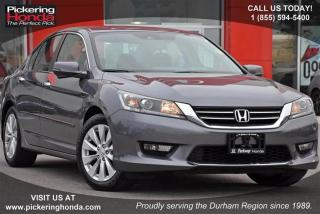 Used 2015 Honda Accord Sedan L4 EX-L CVT for sale in Pickering, ON
