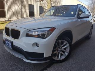 Used 2015 BMW X1 xDrive28i-Pano roof-Super clean for sale in Mississauga, ON