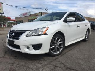 Used 2014 Nissan Sentra SR| NAV | CVT | SUNROOF | HTD SEATS for sale in St Catharines, ON