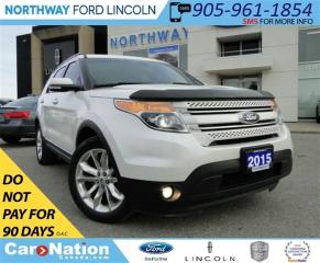 Used 2015 Ford Explorer Limited | NAV | 3RD ROW | REAR CAM | LEATHER | for sale in Brantford, ON