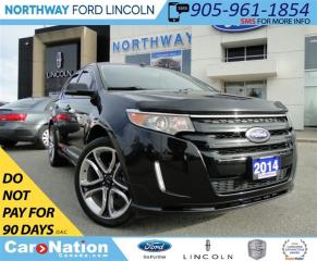 Used 2014 Ford Edge Sport | NAV | PANO ROOF | LEATHER | for sale in Brantford, ON