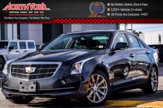 Used 2017 Cadillac ATS Sedan Luxury AWD|Nav|Sunroof|Leather|BOSE|Heat Frnt.Seats|17