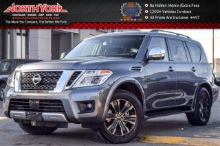 Used 2017 Nissan Armada Platinum Edition 4x4|Captain Seat Pkg|Rr DVD's|BOSE|Heat Seats for sale in Thornhill, ON