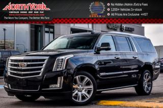 Used 2017 Cadillac Escalade ESV Luxury 4x4|BlindSpot|Rr DVD's|LaneKeep|BOSE|22