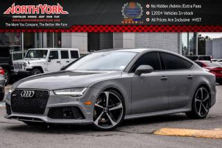Used 2016 Audi RS 7 Quattro|Comfort Seat.,Driver Asst.Pkgs|HeadsUp|BOSE|BlindSpot for sale in Thornhill, ON