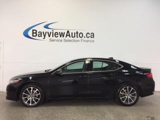 Used 2015 Acura TLX ELITE- AWD|REM STRT|ROOF|LTHR|ADAPTIVE CRUISE|NAV! for sale in Belleville, ON