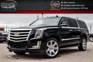 Used 2017 Cadillac Escalade ESV Luxury|4x4|7 Seater|Navi|Sunroof|DVD|360 Backup Cam|Bluetooth|R-Start|Blind spot|22