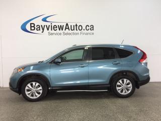 Used 2014 Honda CR-V SE- AWD|ALLOYS|SUNROOF|HTD LTHR|REV CAM|BLUETOOTH! for sale in Belleville, ON