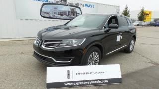 New 2018 Lincoln MKX Select for sale in Stratford, ON