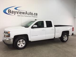 Used 2017 Chevrolet Silverado 1500 LT- 5.3L|DBL CAB|ALLOYS|REV CAM|ON STAR!WIFI! for sale in Belleville, ON