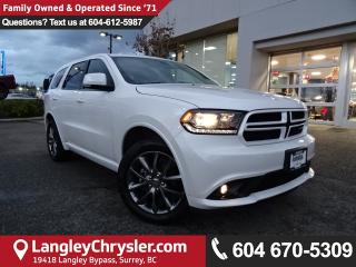 Used 2017 Dodge Durango GT *ACCIDENT FREE*ONE OWNER*LOCAL BC CAR* for sale in Surrey, BC