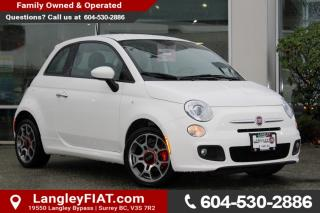 Used 2015 Fiat 500 Sport NO ACCIDENTS, B.C OWNED for sale in Surrey, BC