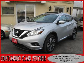 Used 2015 Nissan Murano PLATINUM AWD NAVIGATION LEATHER SUNROOF for sale in Toronto, ON