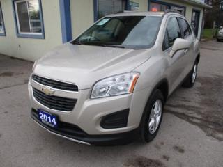 Used 2014 Chevrolet Trax FUEL EFFICIENT 1-LT MODEL 5 PASSENGER 1.4L - DOHC.. ALL WHEEL DRIVE.. KEYLESS ENTRY.. CD/AUX INPUT.. for sale in Bradford, ON