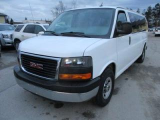 Used 2015 GMC Savana 1-TON PEOPLE MOVING LT MODEL 15 PASSENGER 6.0L - V8.. STABILITRAK.. CD/AUX INPUT.. KEYLESS ENTRY.. AIR CONDITIONING.. for sale in Bradford, ON