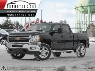 Used 2011 Chevrolet Silverado 2500 LT Crew Cab 4WD for sale in Stittsville, ON