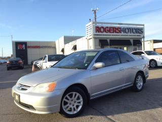 Used 2001 Honda Civic EX - 2 DR - SUNROOF for sale in Oakville, ON