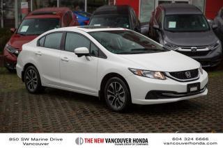 Used 2015 Honda Civic Sedan EX CVT for sale in Vancouver, BC