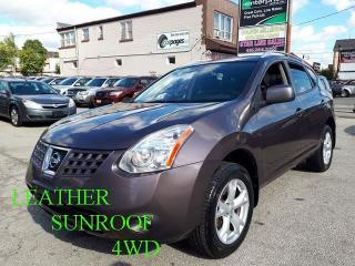 Used 2009 Nissan Rogue SL/LEATHER/SUNROOF/4WD for sale in Scarborough, ON