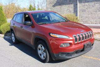 Used 2014 Jeep Cherokee Sport for sale in Cornwall, ON
