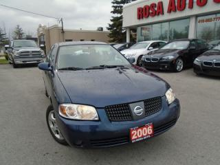 Used 2006 Nissan Sentra 1.8 NO ACCIDENTS PL,PM,PW AUX SAFETY AND E TEST IN for sale in Oakville, ON