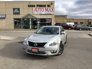 Used 2013 Nissan Altima 2.5 SL, Navigation, Rear View Camera, for sale in North York, ON