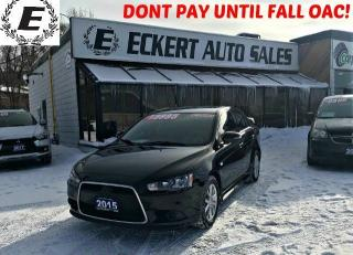 Used 2015 Mitsubishi Lancer ES WITH BLUETOOTH for sale in Barrie, ON