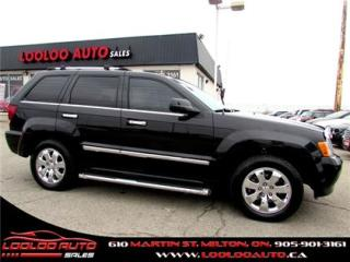 Used 2010 Jeep Grand Cherokee Limited V8 AWD Navigation Camera Certified 2YR W for sale in Milton, ON