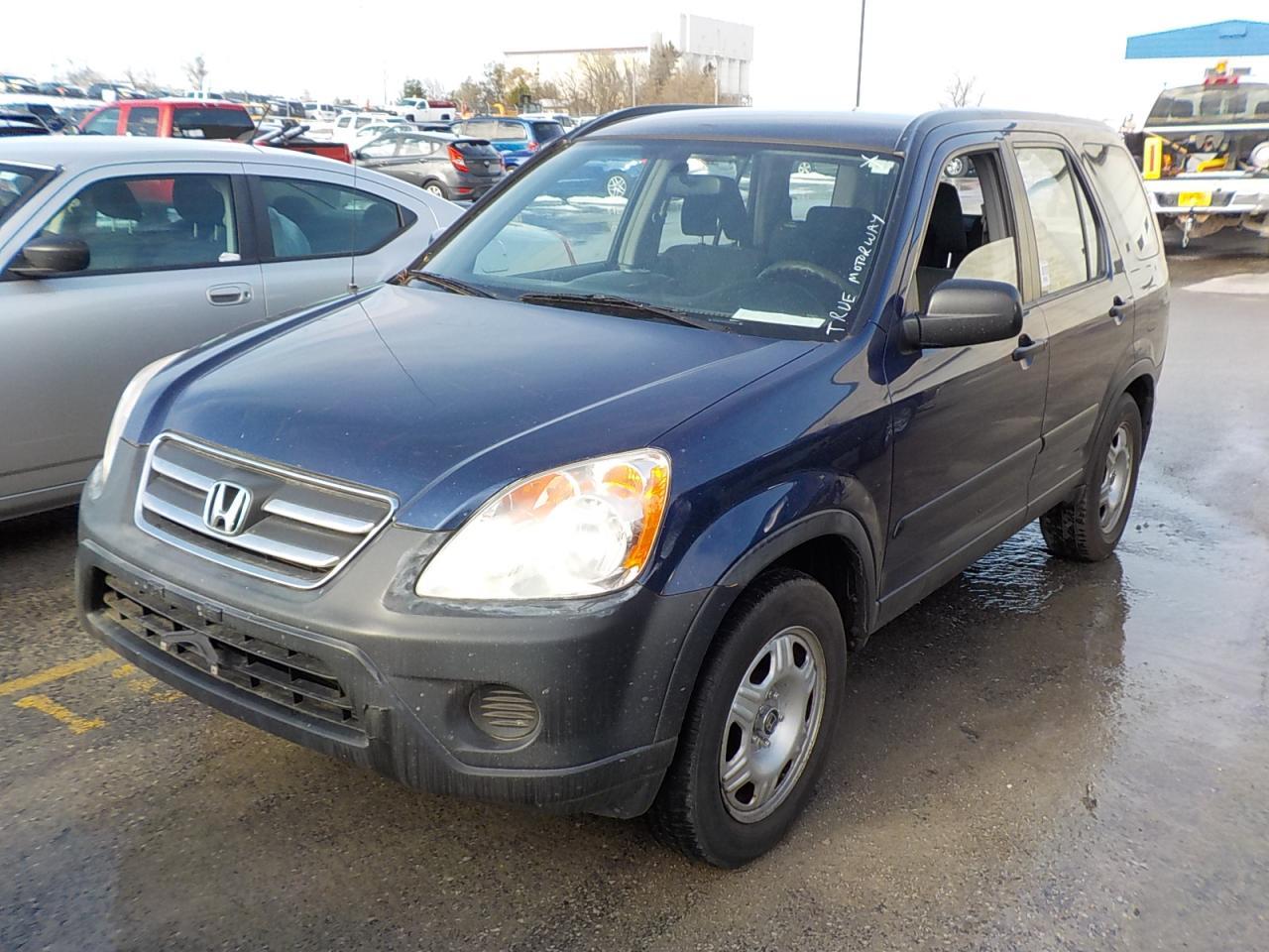Photo of Blue 2005 Honda CR-V
