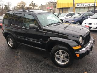 Used 2007 Jeep Liberty Auto / 4x4 / Leather / Sunroof / Winter Ready! for sale in Scarborough, ON