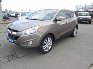 Used 2010 Hyundai Tucson Limited w/Nav for sale in Hamilton, ON