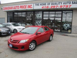 Used 2013 Toyota Corolla CE- AUTO-ALL POWER-BLUETOOTH-HEATED for sale in Scarborough, ON