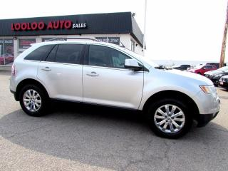 Used 2009 Ford Edge Limited AWD LEATHER BLUETOOTH CERTIFIED for sale in Milton, ON