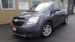 Used 2012 Chevrolet Orlando 1LT-4cyl-LOADED-7PASS THIRD ROW SEATING for sale in Tilbury, ON