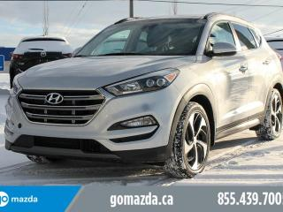 Used 2016 Hyundai Tucson Ultimate AWD LEATHER PANORAMIC SUNROOF NAVIGATION HEATED SEATS & STEERING WHEEL A/C SEATS for sale in Edmonton, AB