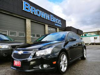 Used 2011 Chevrolet Cruze LT Turbo+ w/1SB for sale in Surrey, BC