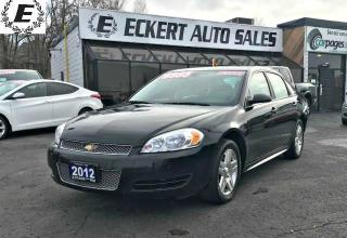 Used 2012 Chevrolet Impala LS 3.6L WITH DUAL EXHAUST for sale in Barrie, ON