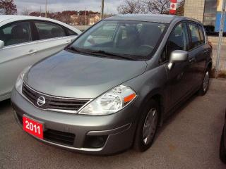 Used 2011 Nissan Versa S for sale in Georgetown, ON