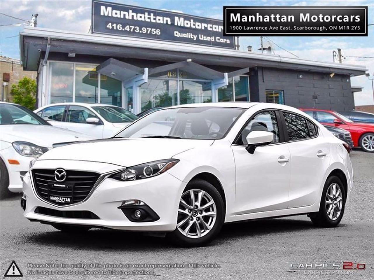2014 Mazda MAZDA3 GS-SKY AUTO |CAMERA|SUNROOF|WARRANTY|PHONE|66000KM
