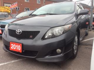 Used 2010 Toyota Corolla S for sale in Scarborough, ON
