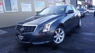 Used 2014 Cadillac ATS NO HST 1 WEEK ONLY-1 OWNER OF FLEASE GM-SUNROOF for sale in Tilbury, ON