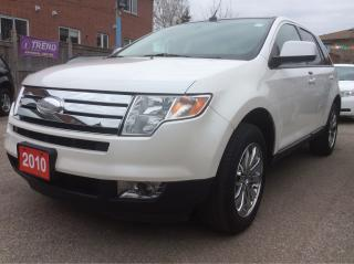 Used 2010 Ford Edge 3.5L/Bluetooth Panorama Roof Leather Heated Seats for sale in Scarborough, ON
