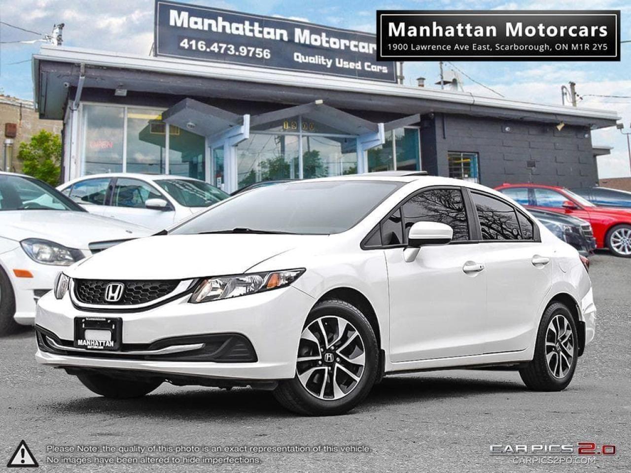 2014 Honda Civic EX AUTO  SUNROOF ALLOY CAMERA PHONE LOADED
