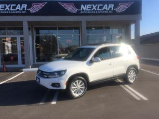 Used 2014 Volkswagen Tiguan 2.0 TSI COMFORTLINE AWD AUT0 LEATHER PANO/ROOF 99K for sale in North York, ON