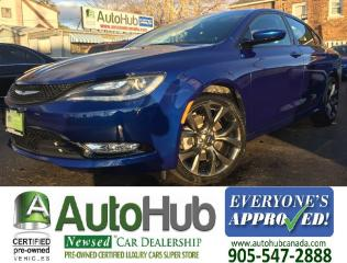 Used 2015 Chrysler 200 NAV-BACKUP CAMERA-HEATED STEERING-LOW KM-LEATHER for sale in Hamilton, ON