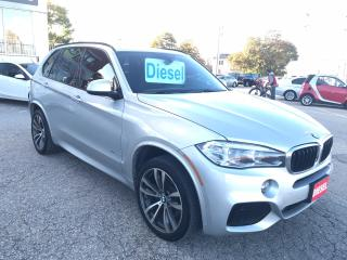 Used 2015 BMW X5 xDrive35d/M-SPORT/CERTIFIED/WARRANTY INCLUDED for sale in Cambridge, ON