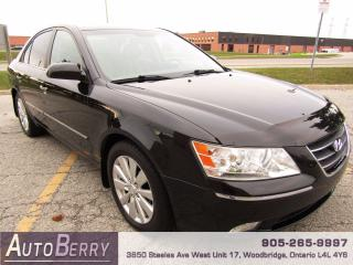 Used 2009 Hyundai Sonata GLS - LIMITED - 2.4L for sale in Woodbridge, ON