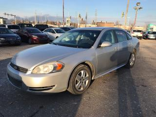 Used 2011 Chevrolet Impala LS - SAFETY & WARRANTY INCLUDED for sale in Cambridge, ON